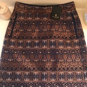 Embroidered skirt NWT